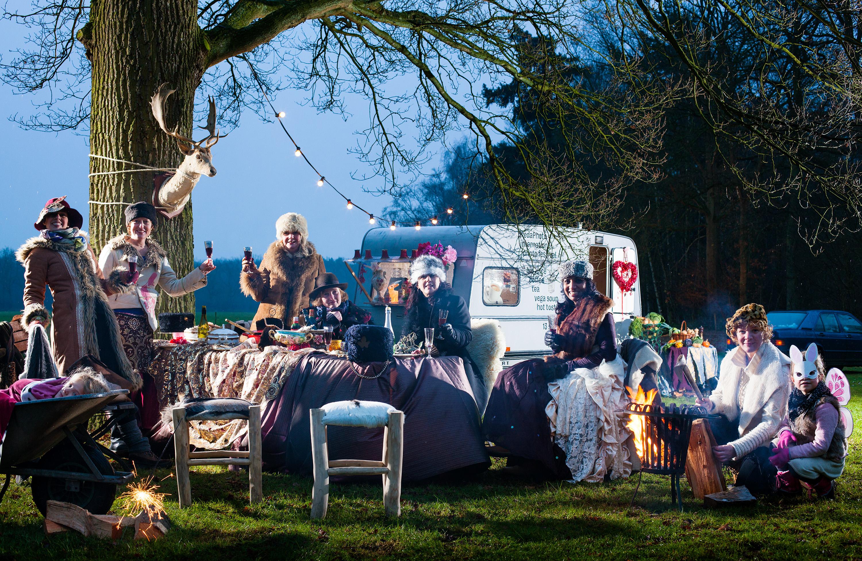 Breda Photo 2012, Arti-Sjok, catering met Artitieke styling