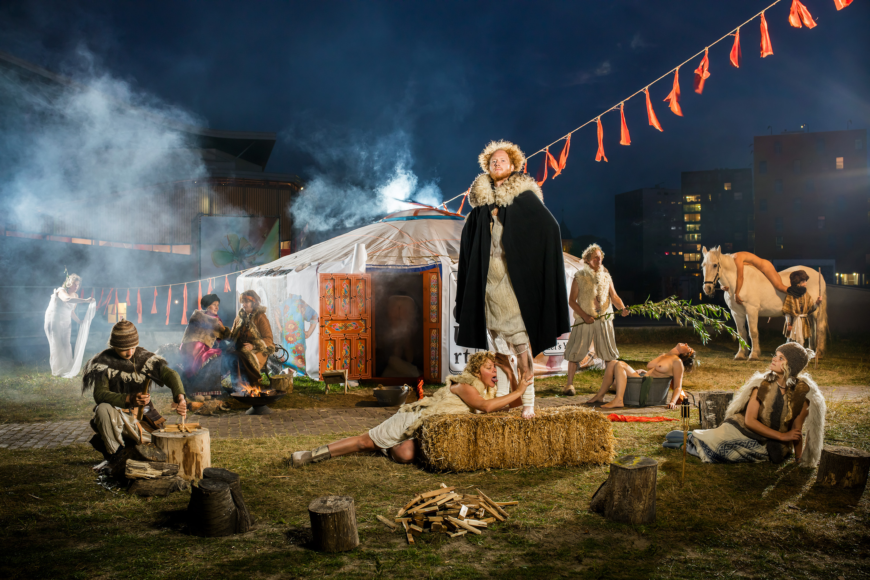 Breda Photo 2016, de YOURT, fotografie in samenwerking met Wiesje Peels en Tante Beun