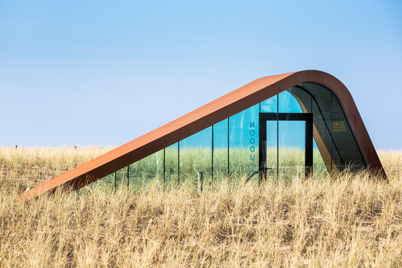 Parkeergrarage duinen Katwijk,fotografie in opdracht van Glasdesign