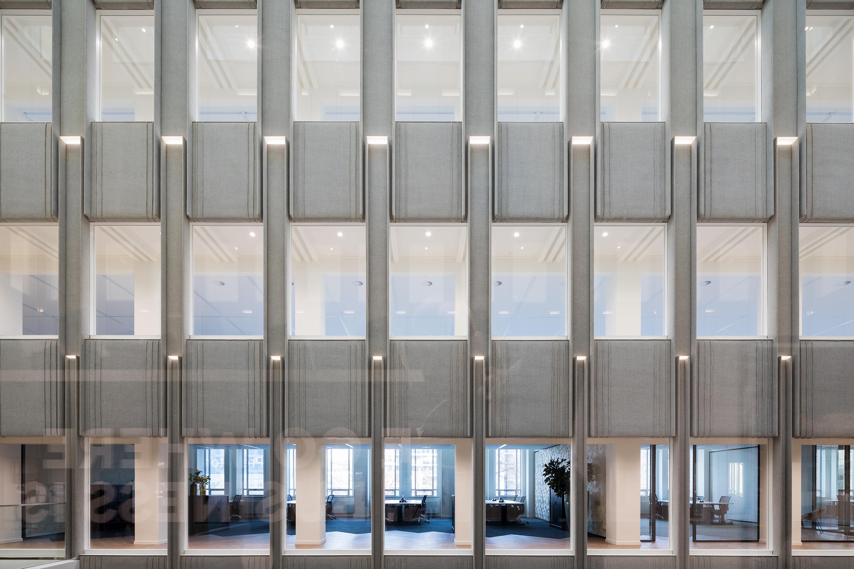 Blaak 34 Rotterdam, voormalig bankgebouw, rijksmonument, fotografie in opdracht van Glasdesign