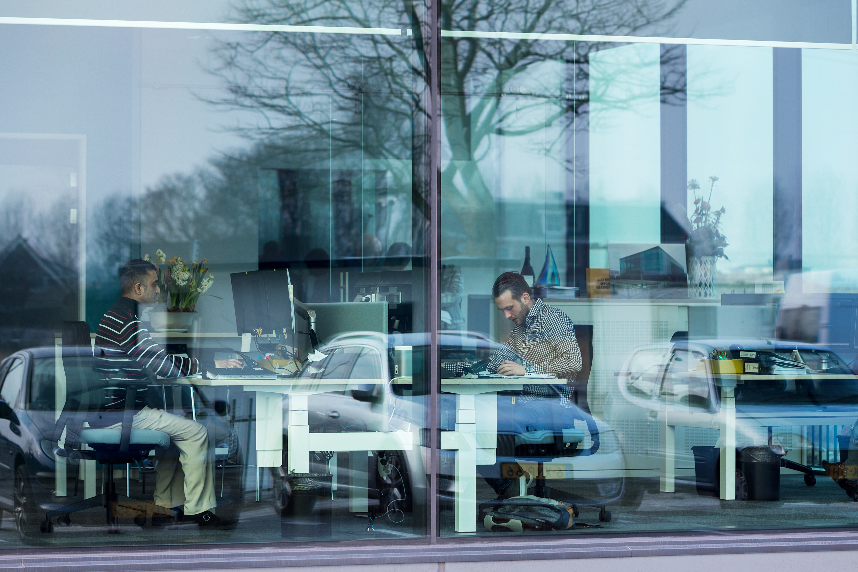 Nieuw pand Glasdesign, fotografie in opdracht van Glasdesign