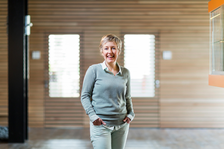 Perfetti Van Melle. Portret Mirelle Ollebek voor arbeidsportaal.