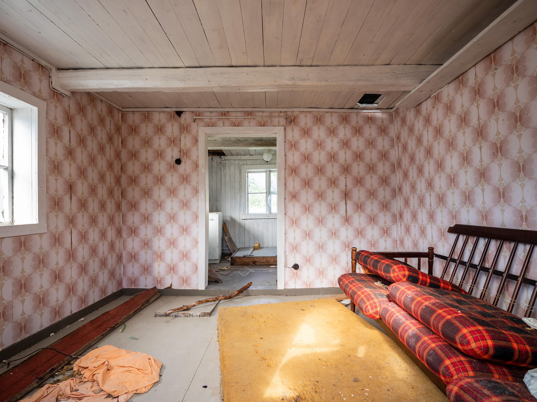 Vervallen Noors huisje, Gratangen