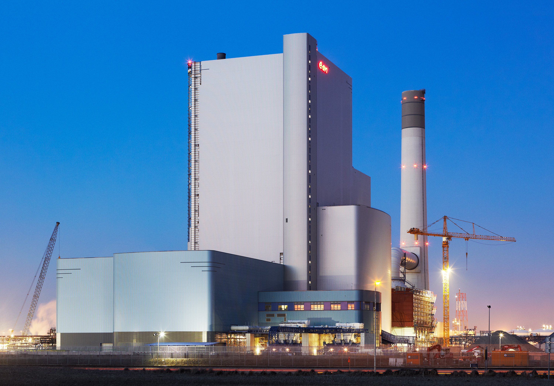 Maasvlakte Eon Electriciteitscentrale voor Wolter en Dros magazine
